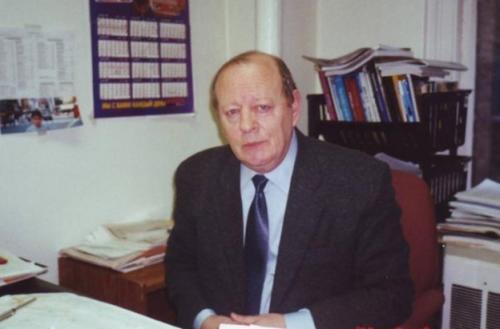 Главный Редактор газеты «Форвертс» в своем кабинете, 2003