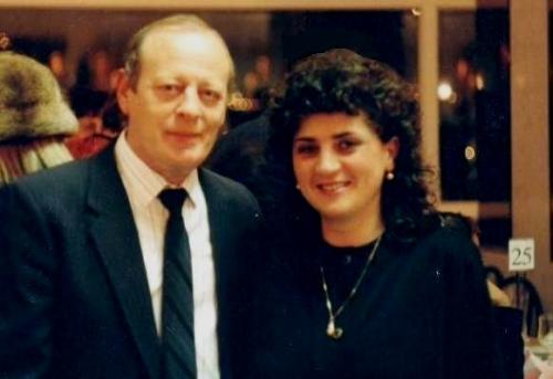 Леонид Школьник с женой Эллой