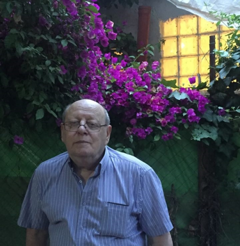 У своего дома, Иерусалим, лето 2016